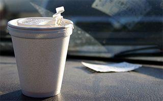 Hot Chocolate In Car