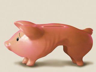 Skinny-piggy-bank